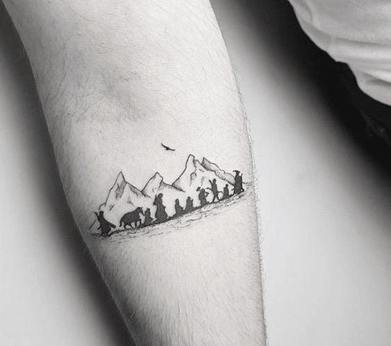 Tatuagem Senhor dos Anéis