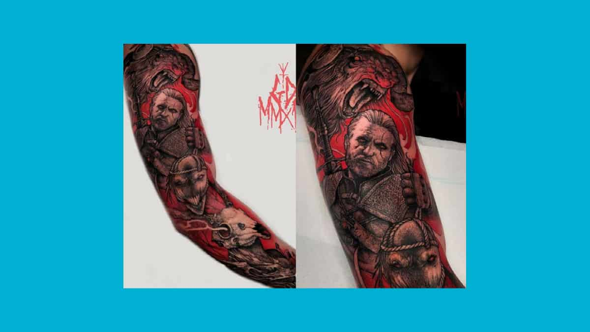 Tatuagens de The Witcher